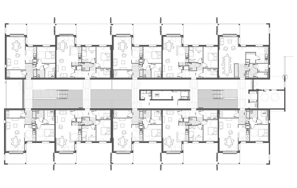 plan appartement collectif