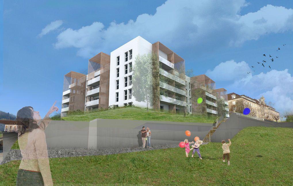 R sidence 35 logements collectifs vesoul 70 bergeret for Habitat 70 vesoul