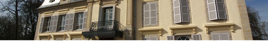 Restauration du château, création appartements, chambres d'hôtes, réfection dépendances_Pusy Epenoux