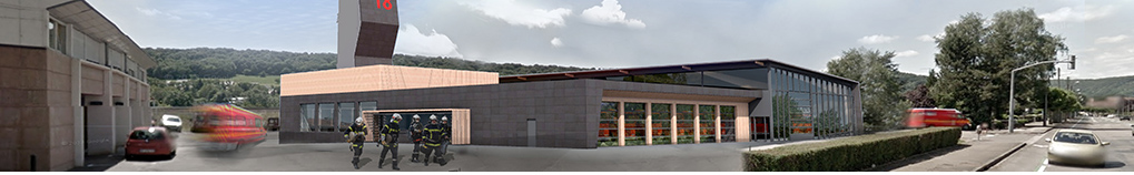 Construction du centre d'incendie et de secours_Vesoul (70)