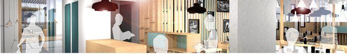 Aménagement d'un restaurant Place de la Gare_Saint Nabord (88)